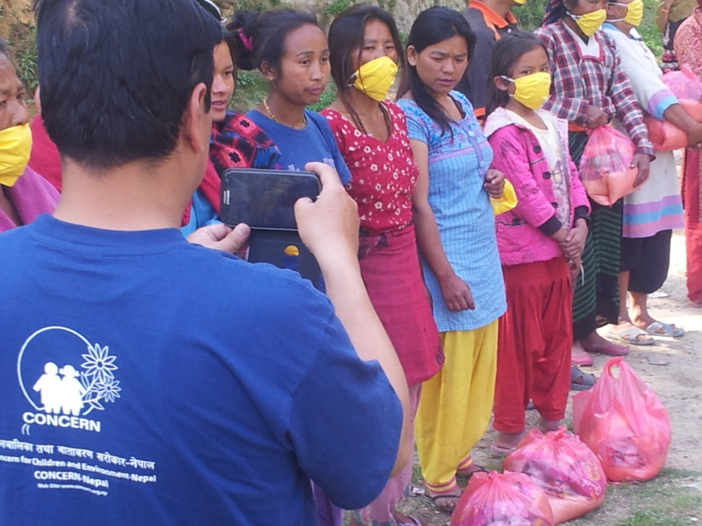 Schooling 100 Children of Earthquake Victim Family