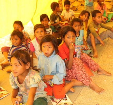 Schooling 100 Children of Earthquake Victim Family