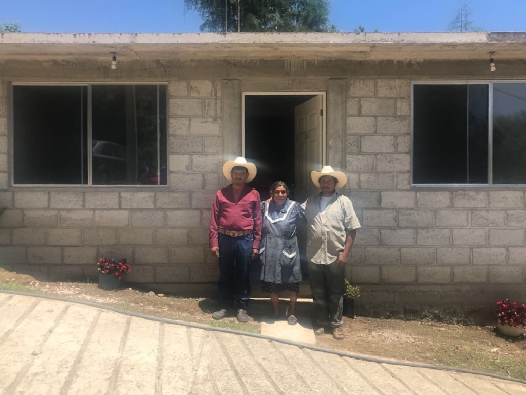 Rebuilding homes and businesses in Morelos