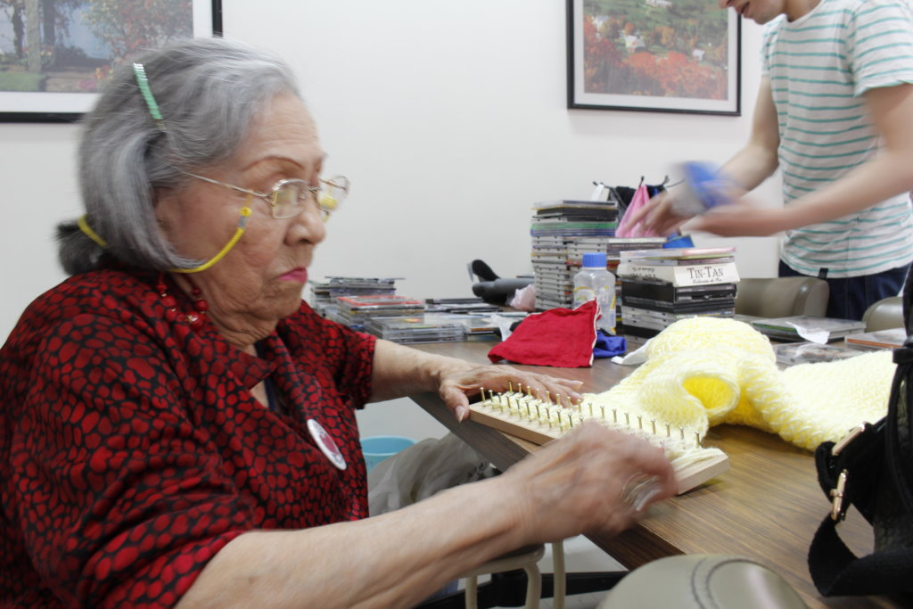 SPONSOR AN ELDERLY PERSON TO IMPROVE HIS LIFE