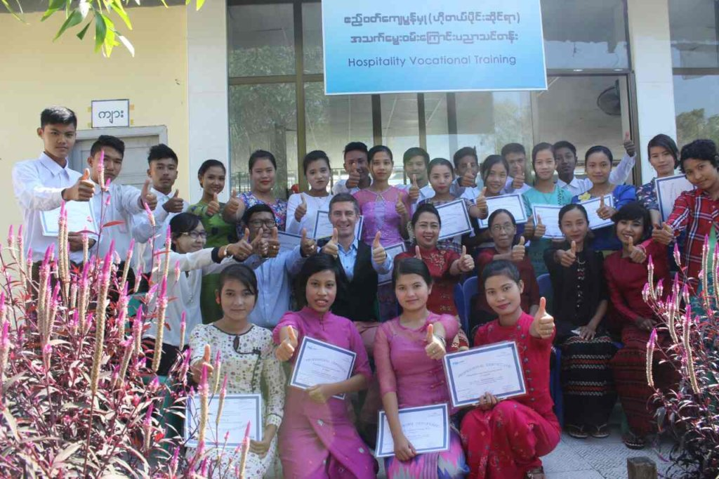 Hospitality Vocational Training, Myanmar