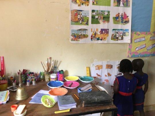 Sponsor a child to go to pre-school in Uganda