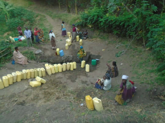 SAVE LIVES OF  PEOPLE NEAR THE  WELLS IN KASESE