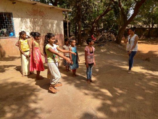 Dance Workshop - by our Volunteer Ms.Madhuri