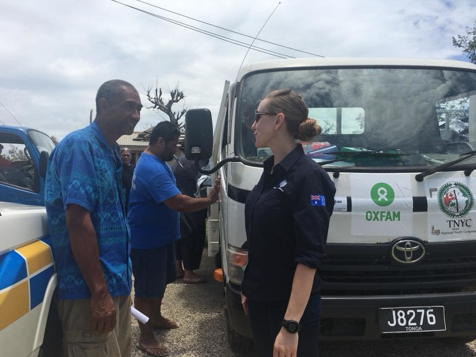 Oxfam: Relief Response to Cyclone Gita in Tonga