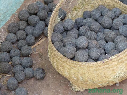 Bio-charcoal ready to use