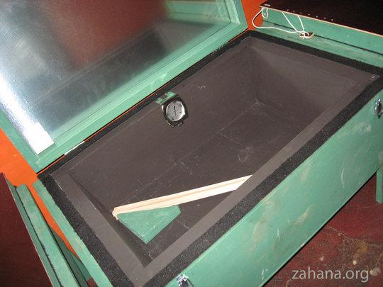 Solar cooker made in Madagascar