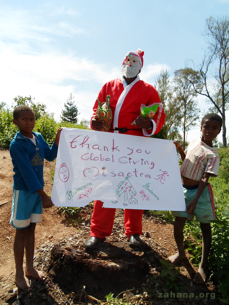 Thank you from Fiarenana in Madagascar