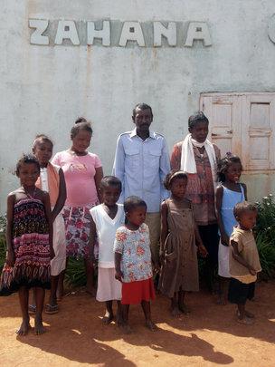 Zahana's school in Fiarenana