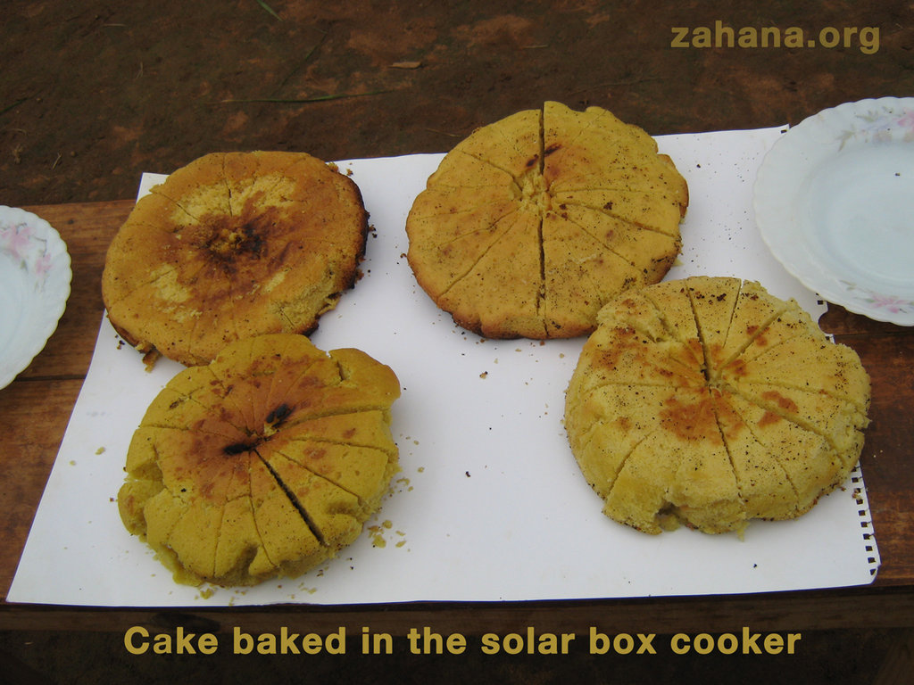 Cake baked in the school
