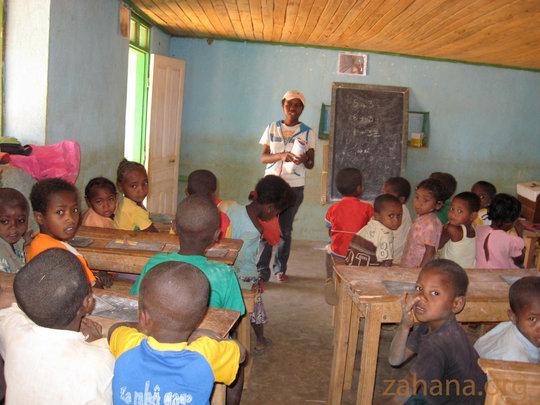 Inside Fiadanana's school - in the 7th year