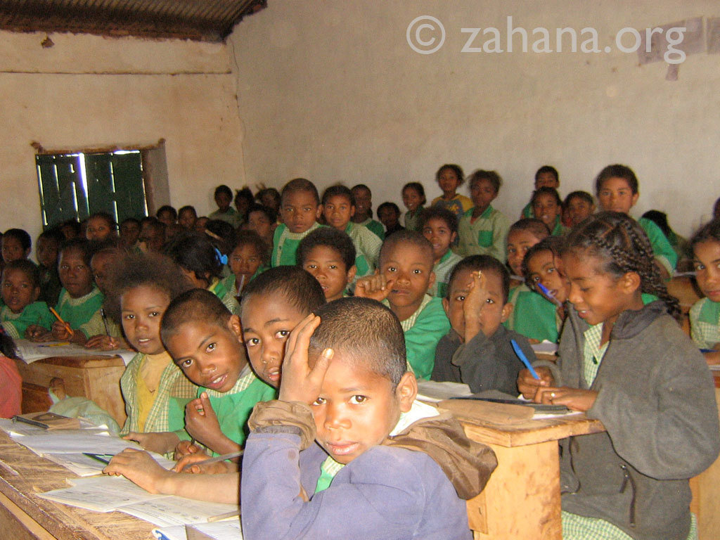 A community school for all (children) in Fiarenana