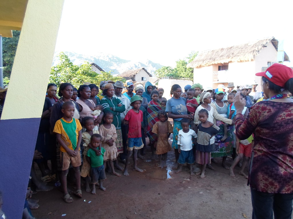 Community health education by Dr. Evelyn