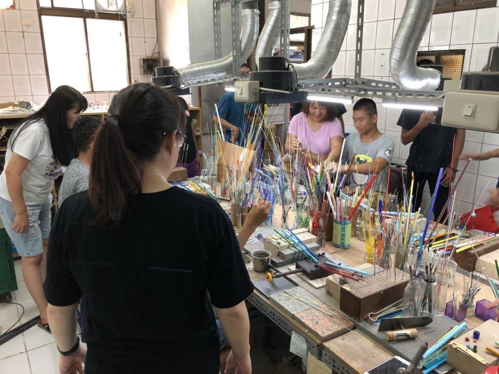 Youth enjoys art and making their own  souvenir