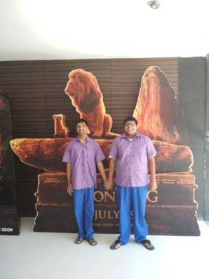 Outing t watch Movie Lion King