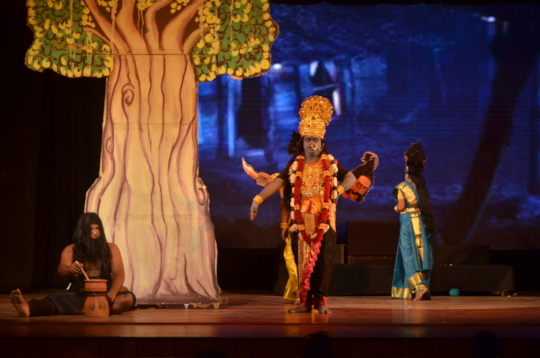 Experience the dance of Maa