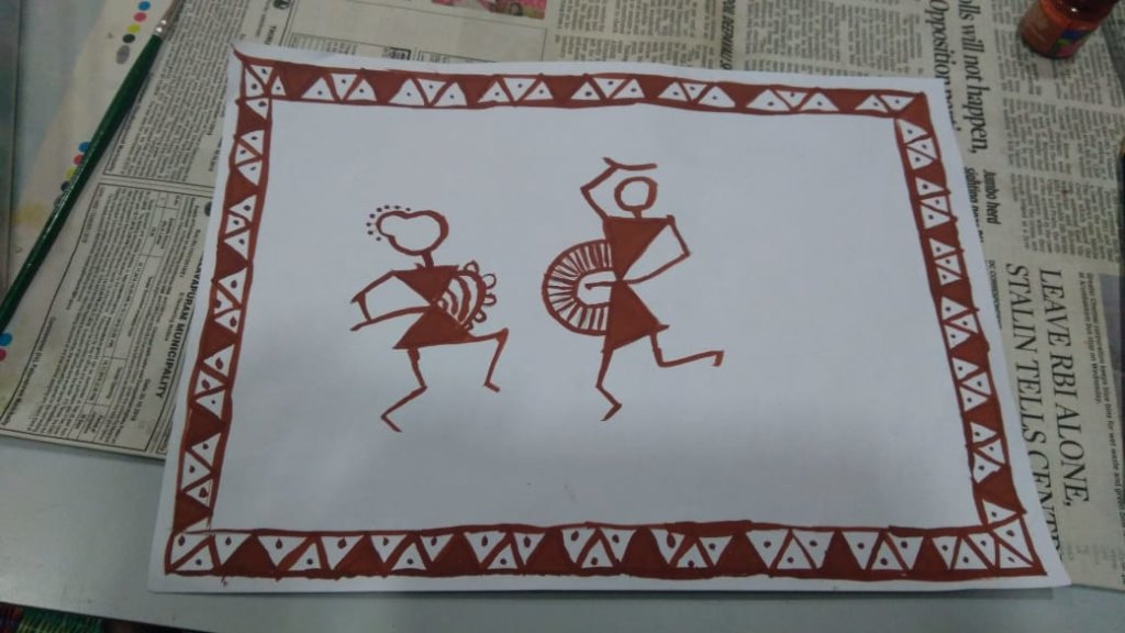 Warli Art by N