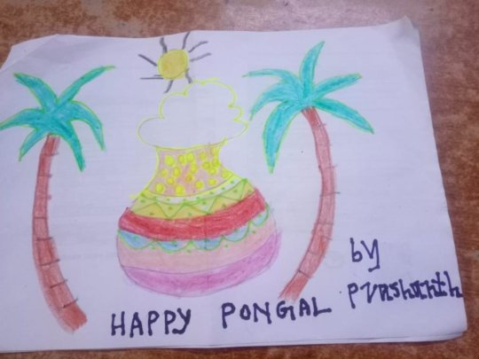 RASA Pongal Art Session