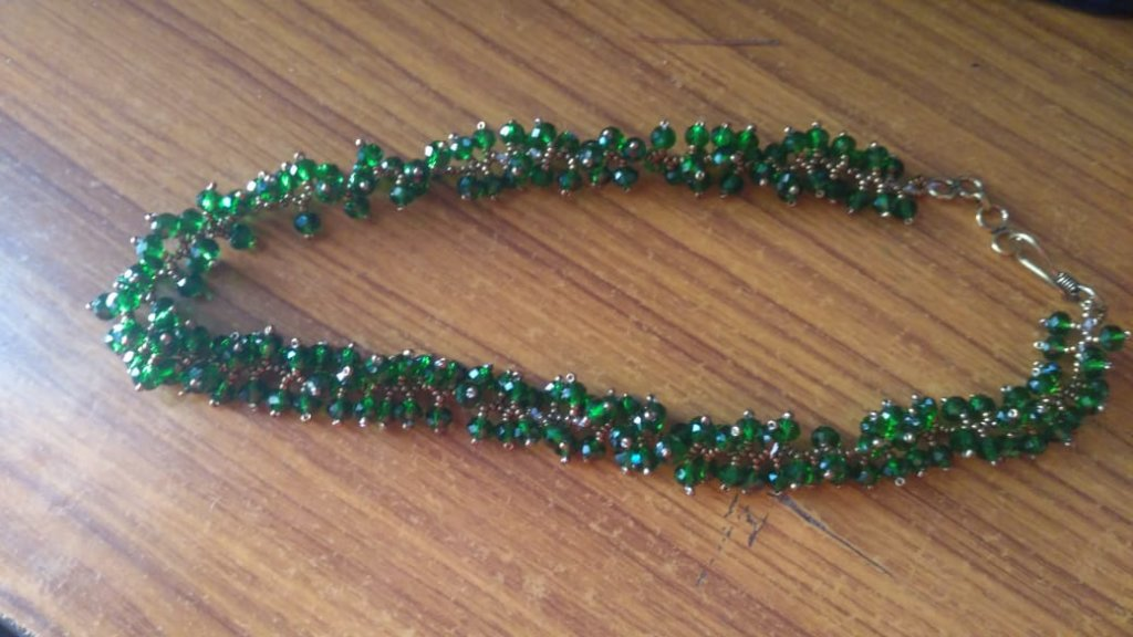 Beaded  necklace made by R