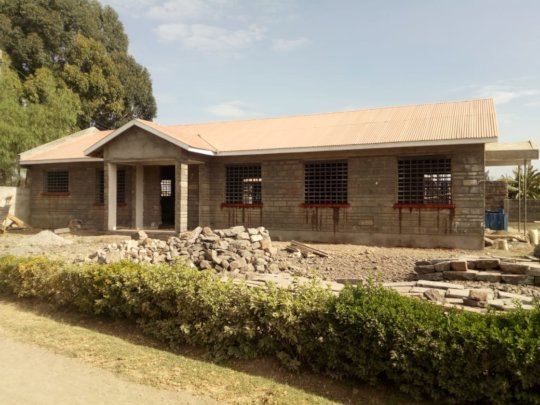 Dining / Multipurpose Hall Construction - Front