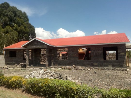 Dining Hall@the Live & Learn in Kenya Ed. Center