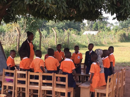 active learning under a mango tree