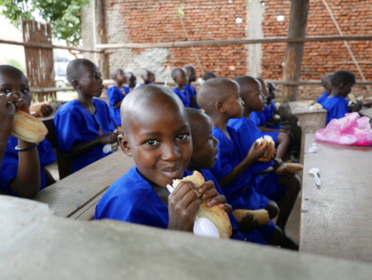 Help us feed 200 hungry children in Burundi