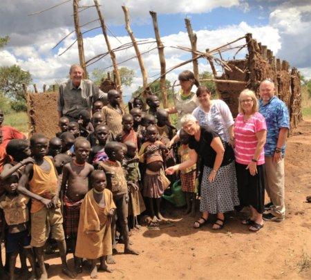 Teachers housing for remote Ugandan school