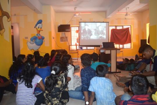 Screening of a short film