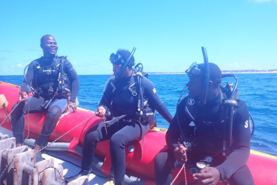 DSD: Discover Scuba diving. First ever diving trip