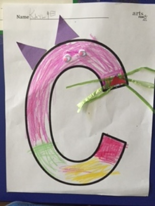 "May Student Work Spotlight: LTA ""C"" is for Cat"