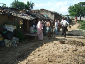Bihar Flood Village