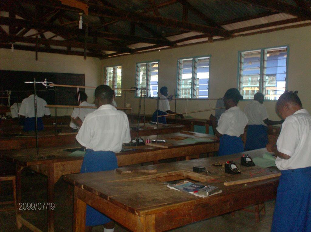 Matende Girls School Classroom