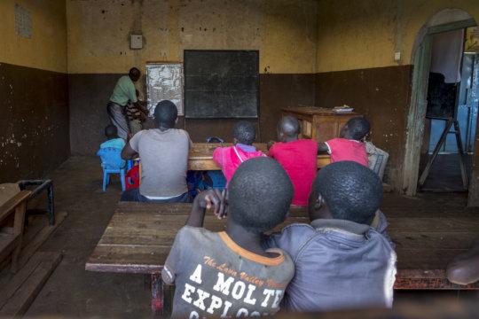 University expenses for former street children