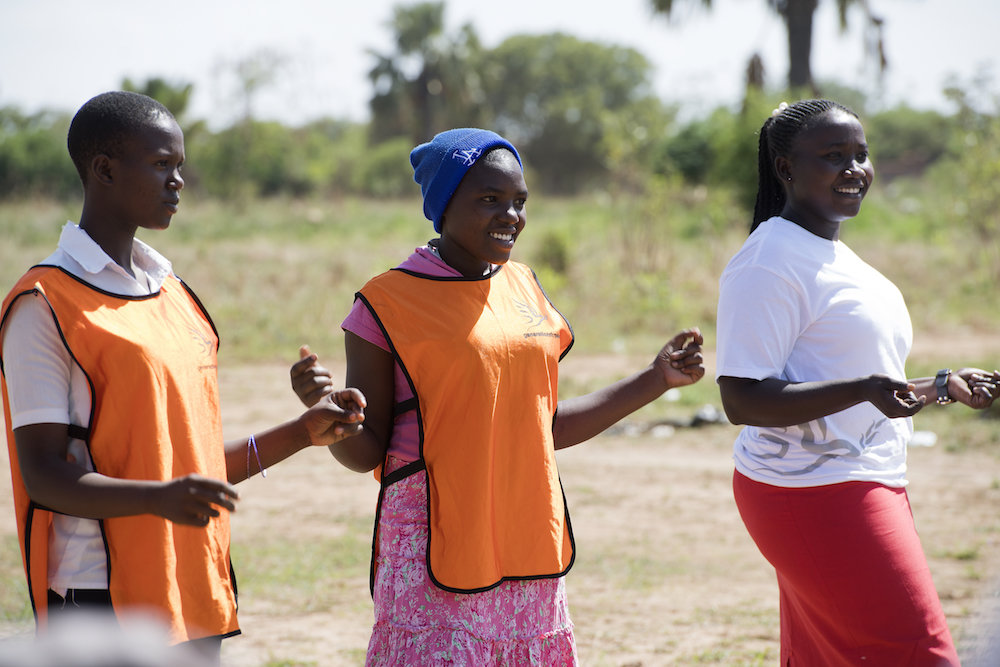 Promote Women's Role in Peace Building