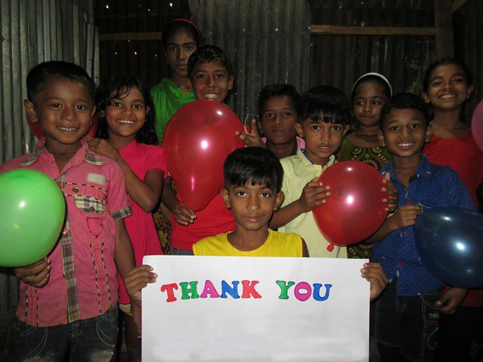 Educate 100 Slum Children in Bangladesh