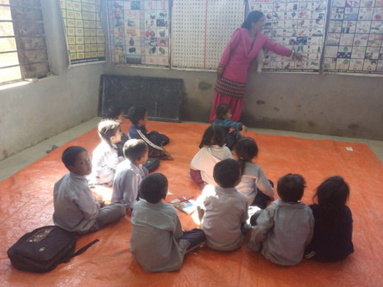 Support Furnishing Schools at Earthquake Epicenter