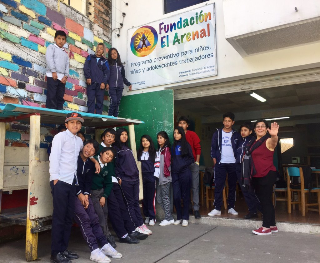 Give Hope to 75 Ecuadorian Street Children