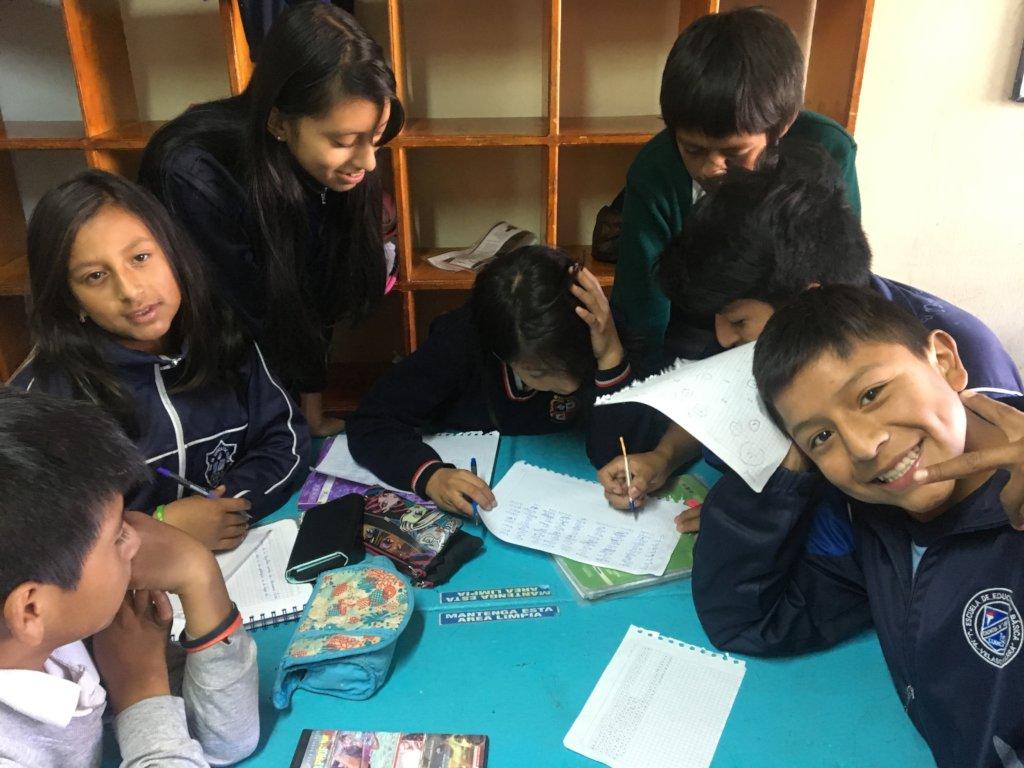 Give Hope to 75 Ecuadorian Street Children