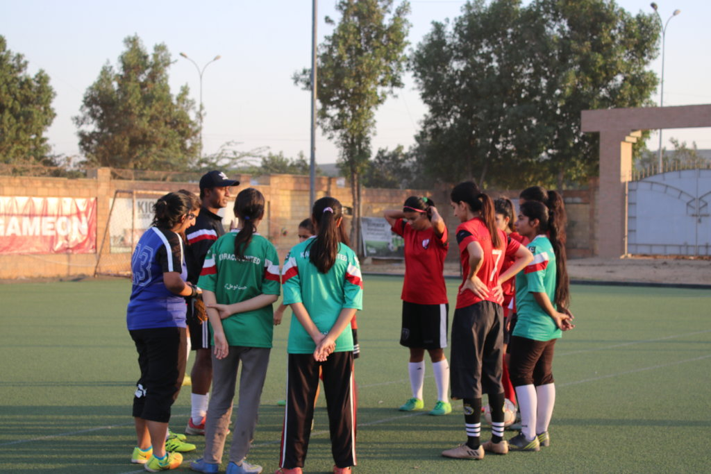 Support An Athlete - Develop Football In Pakistan