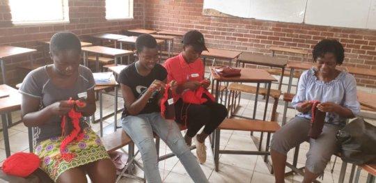 Joan at Mabvuku High