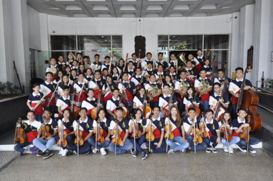 Uplifting Lives of Filipino Youth through Music