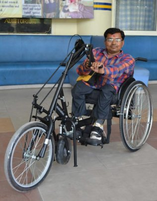 New customised wheelchair for different terrain