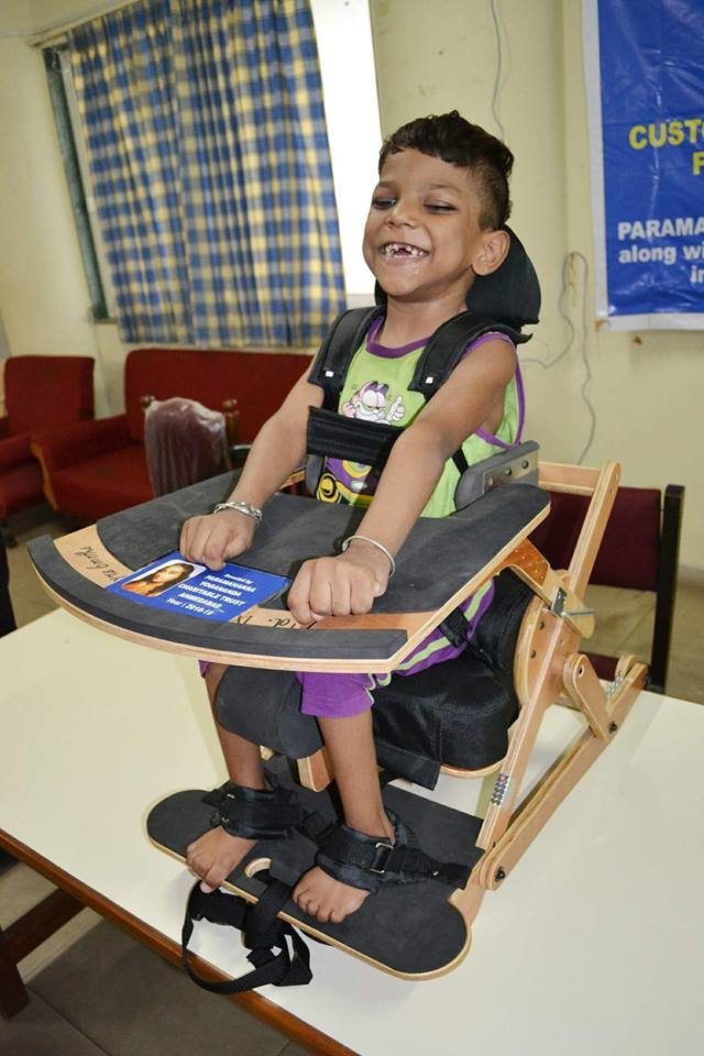 Enabling lives of 500 People with Disabilities