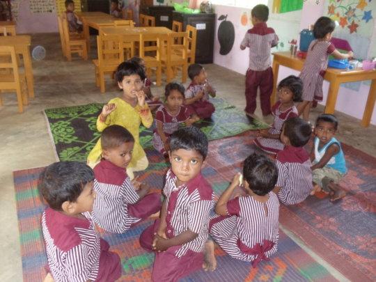 Educate child in Sri Lanka