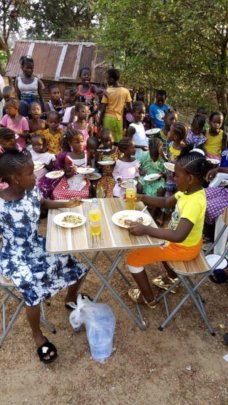 Feeding and Educating under privileged children