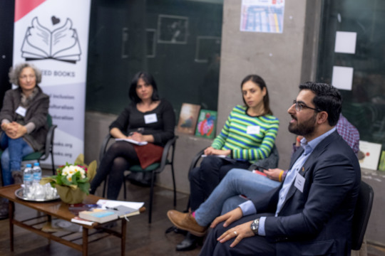 Gulwali Passarlay talking about his book