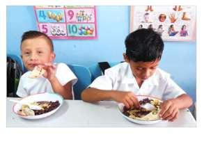 Nicaraguan Breakfast with Added Power of Yogurt.