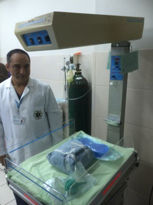 Pediatric Equipment in Lima Clinic
