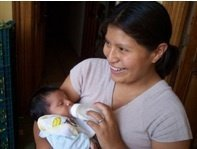 Baby formula for HIV+ teen mothers in Lima, Peru